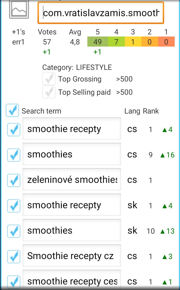 pozice Smoothie recepty